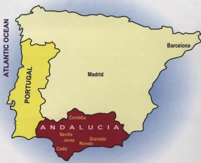 Andalusian area of Spain